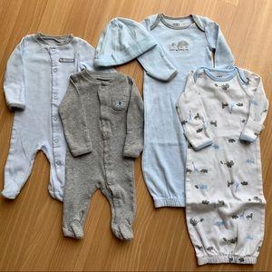 Carter's Newborn Sleepwear Lot